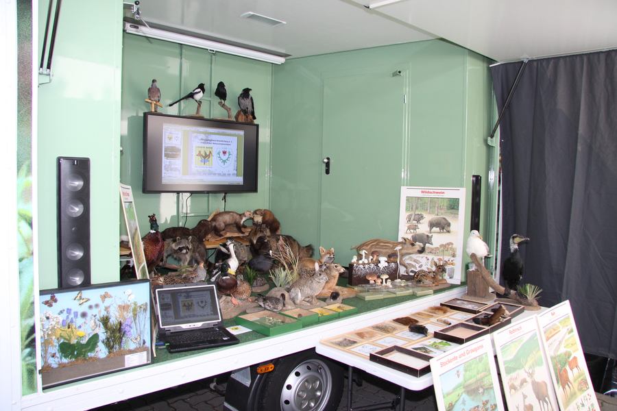 Lernort Natur Mobil in Aktion