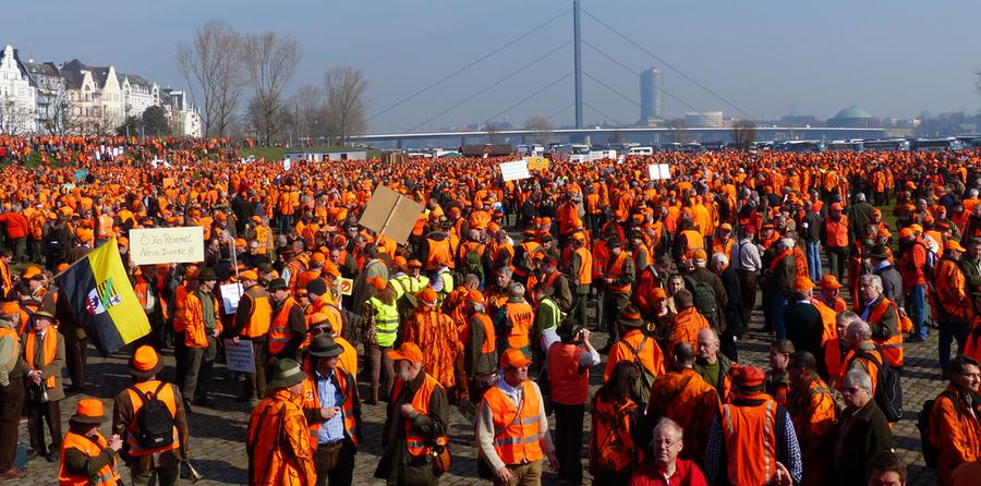 Aufruf zur Demonstration in Magdeburg