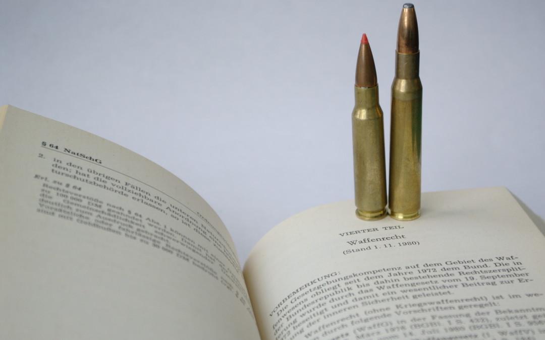 Fragen und Antworten zum geänderten Waffengesetz