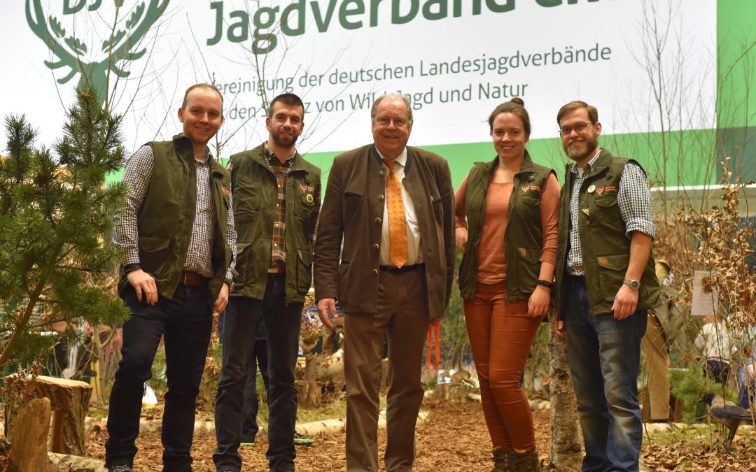 Arbeitsgemeinschaft Junge Jäger Brandenburg auf der IGW