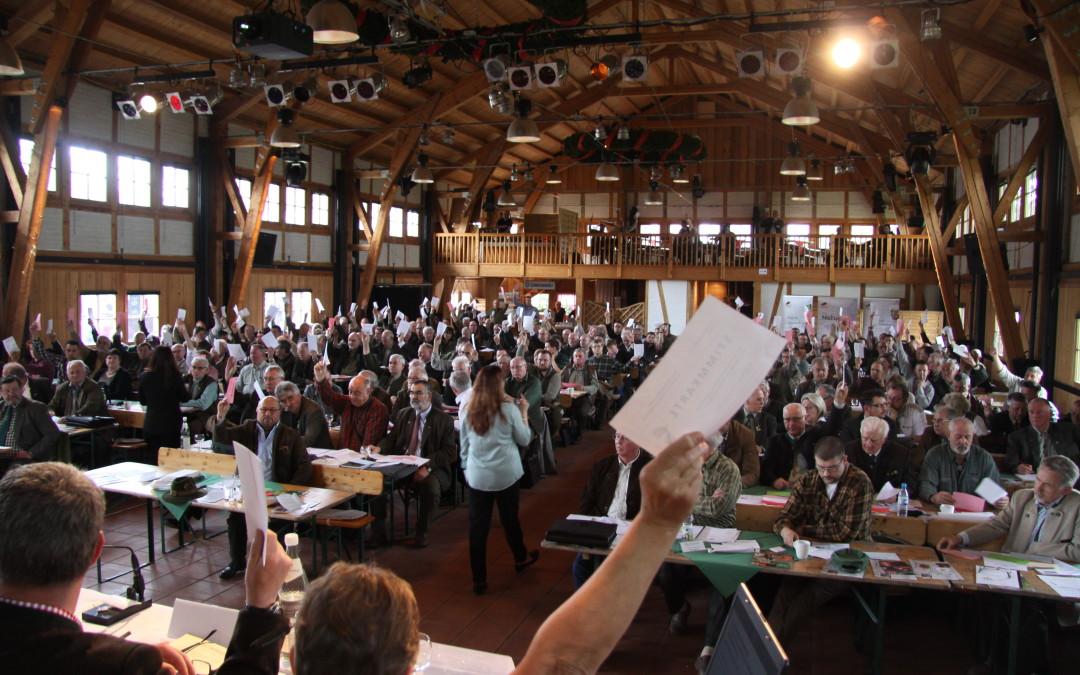 Delegiertenversammlung 2017 und Jägerfest auf Schloss Diedersdorf