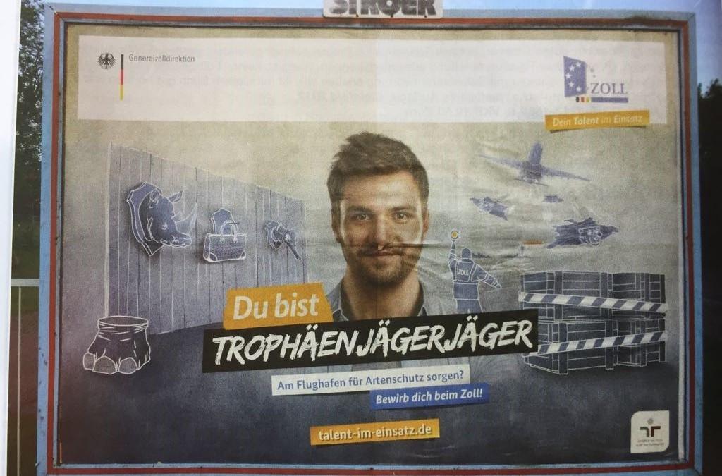 """Trophäenjägerjäger"" bleiben arbeitslos"