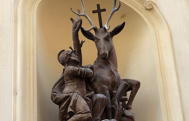 Heiliger Begründer der nachhaltigen Jagd