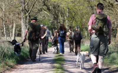 Sicherheit im Wolfsgebiet – Landesjagdverband bildet Hundeführer aus
