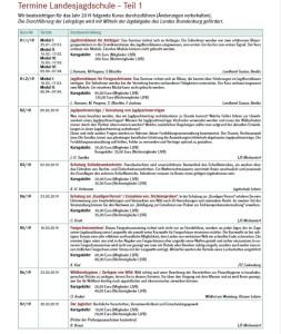 Seminare Teil 1 - 2019