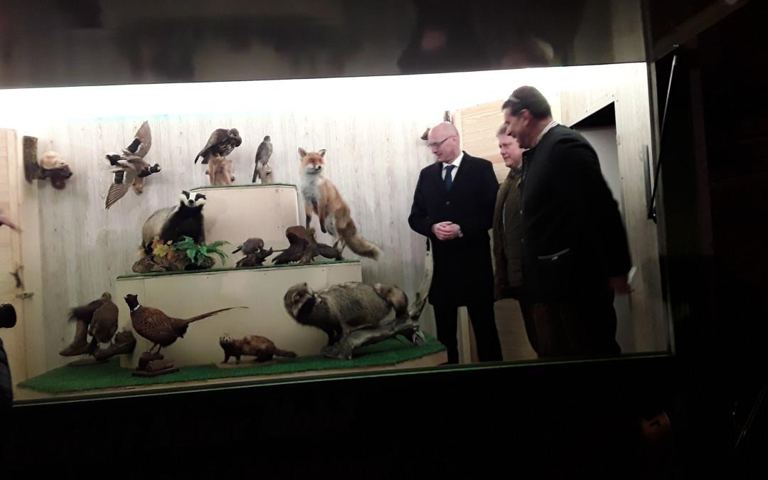 Festakt zum Jubiläum des Kreisjagdverbandes Oberhavel und Einweihung des Lernort-Natur-Anhängers