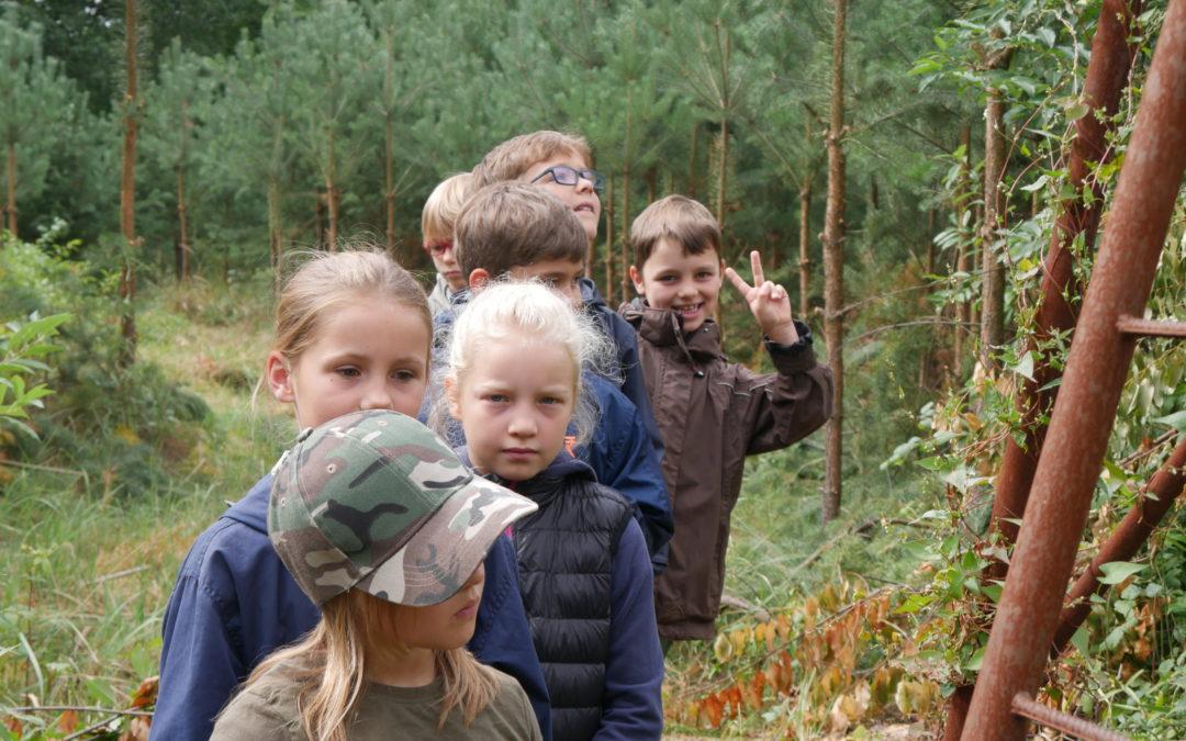 Projekttag Jagd – Schule im Wald