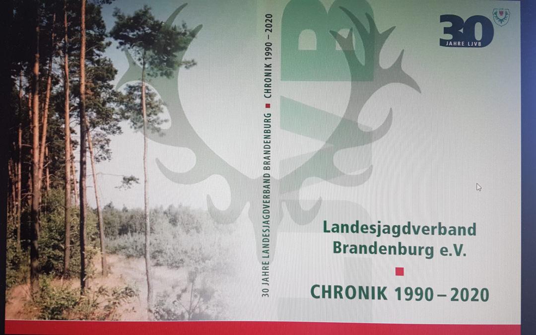 Die Chronik des Landesjagdverbandes Brandenburg wurde neu aufgelegt