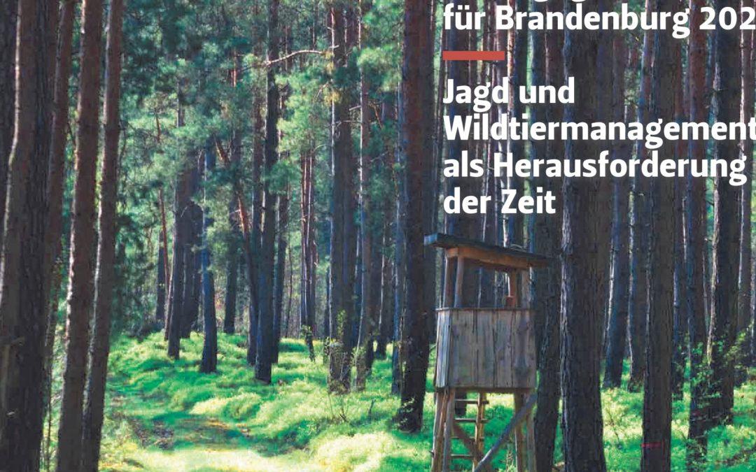 Landesjagdgesetz: Vorschläge für Jagd und Wildtiermanagement
